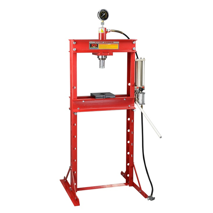 イリイ 20ton油圧エープレス ショッププレス圧力計付き20,000kg