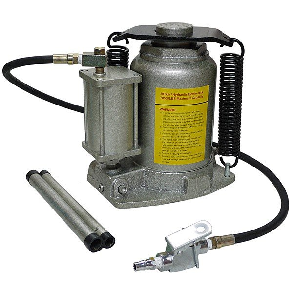 イリイ エアー式油圧ダルマジャッキ ボトルジャッキ32ton TR-390TJ