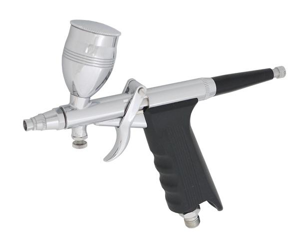 イリイ エアブラシセット ガングリップ 0.3、0.5、0.8mmダブルアクションタイプ