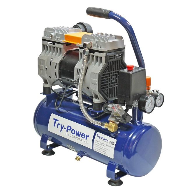 熱い販売 イリイ 1馬力小型 オイルレスエアーコンプレッサー9Lタンク付 低騒音タイプ, オオズシ c13581f5