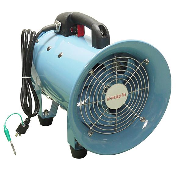 イリイ Φ200mm/換気・排気用 ポータブルファン送風機