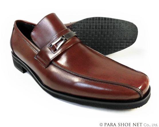 Christian Carano(クリスチャン カラノ)本革 ビットローファー ビジネスシューズ 茶色 3E(EEE)~4E(EEEE)27.5cm、28cm(28.0cm)、28.5cm、29cm(29.0cm)、30cm(30.0cm)/大きいサイズ・メンズ・革靴・紳士靴