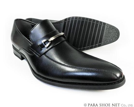 KANZAN 本革 ビットローファー ビジネスシューズ 黒 ワイズ(足幅)3E(EEE)28cm(28.0cm)、29cm(29.0cm)、30cm(30.0cm)【大きいサイズ(ビッグサイズ)メンズ 革靴・紳士靴】