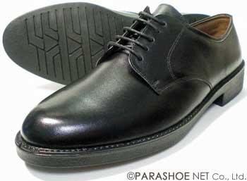 BRAVAS 本革 プレーントゥ ビジネスシューズ 黒 ワイズ3E(EEE) 27.5cm、28cm(28.0cm)、28.5cm、29cm(29.0cm)[大きいサイズ(ビッグサイズ)メンズ革靴・紳士靴]