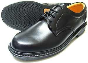 Rinescante Valentiano 本革 プレーントウ ビジネスシューズ 黒 4E(EEEE)【メンズ・革靴・紳士靴・小さいサイズ(スモールサイズ)23cm(23.0cm)、23.5cm、24cm(24.0cm)あり】