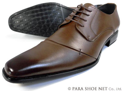 PREMIUM RECOVA 本革 レースアップ ビジネスシューズ 茶色(ブラウン)ワイズ3E(EEE) 28cm(28.0cm)、29cm(29.0cm)【大きいサイズ(ビッグサイズ)メンズ革靴・紳士靴】
