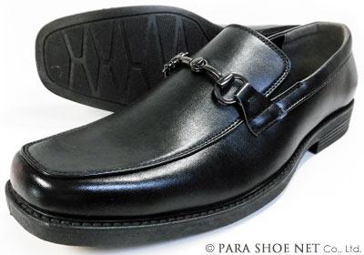 DECT ビットローファー スリッポン ビジネスシューズ 黒 ワイズ4E(EEEE) 27.5cm、28cm(28.0cm)29cm(29.0cm)【大きいサイズ(ビッグサイズ)メンズ紳士靴】