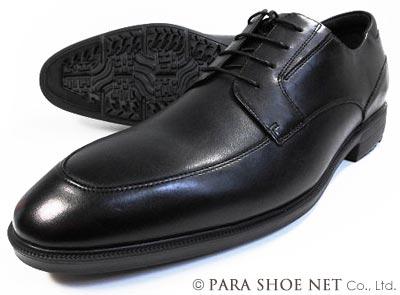 texcy luxe 本革 Uチップ ビジネスシューズ 黒 ワイズ(足幅)3E(EEE) 28cm(28.0cm)、29cm(29.0cm)、30cm(30.0cm)【大きいサイズ(ビッグサイズ)メンズ革靴・紳士靴】