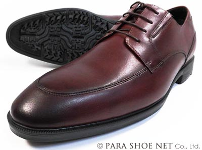 texcy luxe 本革 Uチップ ビジネスシューズ ダークワイン ワイズ(足幅)3E(EEE) 28cm(28.0cm)、29cm(29.0cm)、30cm(30.0cm)【大きいサイズ(ビッグサイズ)メンズ革靴・紳士靴】