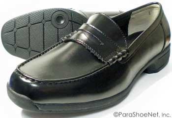 BRAVAS Lapel 高機能ローファー 黒 ワイズ3E(EEE) 27.5cm、28cm(28.0cm)、29cm(29.0cm)、30cm(30.0cm)、31cm(31.0cm)、32cm(32.0cm) [メンズ・大きいサイズ(ビッグサイズ)学生ローファー、通学靴、紳士靴]