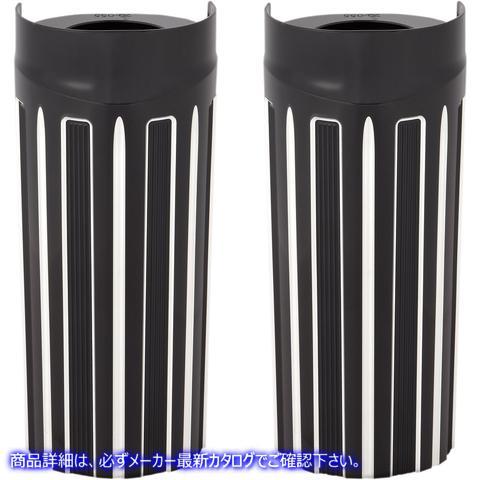 【取寄せ】 アレンネス 20-055 ARLEN NESS 10-Gauge Fork Boot Covers - Black Anodized - +2