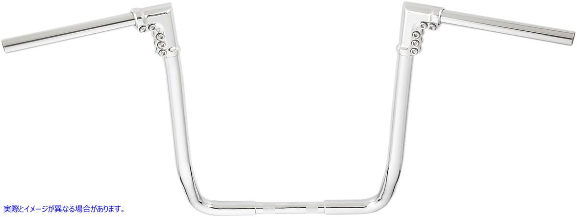 【取寄せ】 アレンネス I-1813 ARLEN NESS Chrome Modular Handlebar for Indian 06013969 ( 0601-3969 ドラッグスペシャリティーズ DRAG