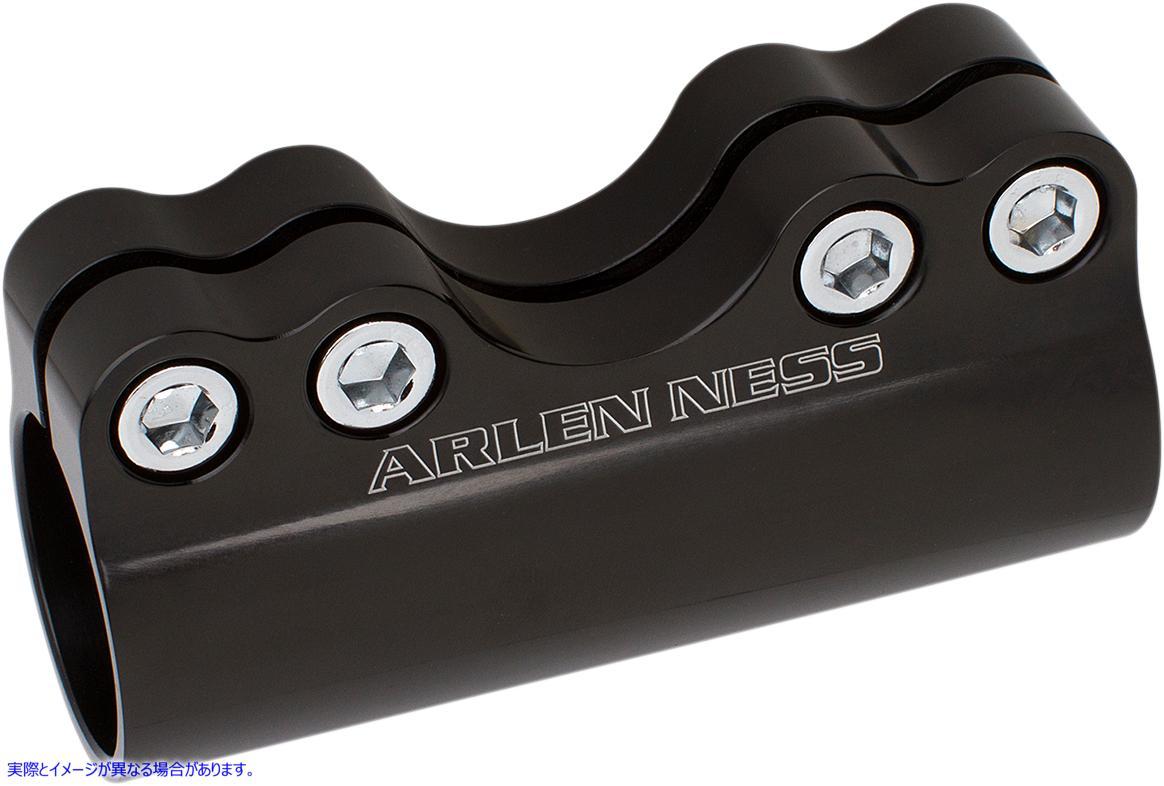 【取寄せ】 アレンネス 08-050 ARLEN NESS Black Modular Handlebar Clamp 06030785 ( 0603-0785 ドラッグスペシャリティーズ DRAG SPECIA