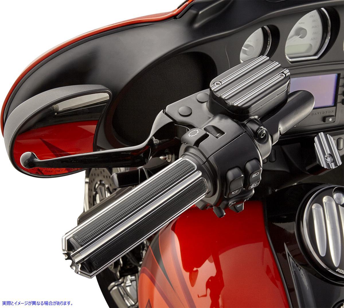 【取寄せ】 アレンネス 07-129 ARLEN NESS Black 10-Gauge Grips for TBW グリップ 10 GAUGE TBW BLK 06301694 ( 0630-1694 ドラッグスペ