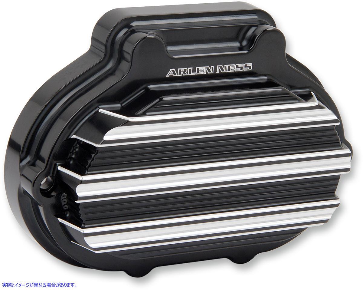 【取寄せ】 アレンネス 03-823 ARLEN NESS Transmission Hydraulic Side Cover - Black COVER TRN SIDE HYD BLK 11050110 ( 1105-0110 ドラ