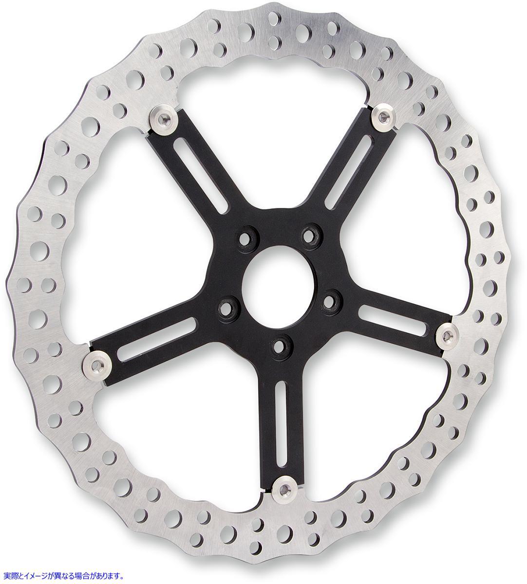 【取寄せ】 アレンネス 02-992 ARLEN NESS Jagged Brake Rotor - 15