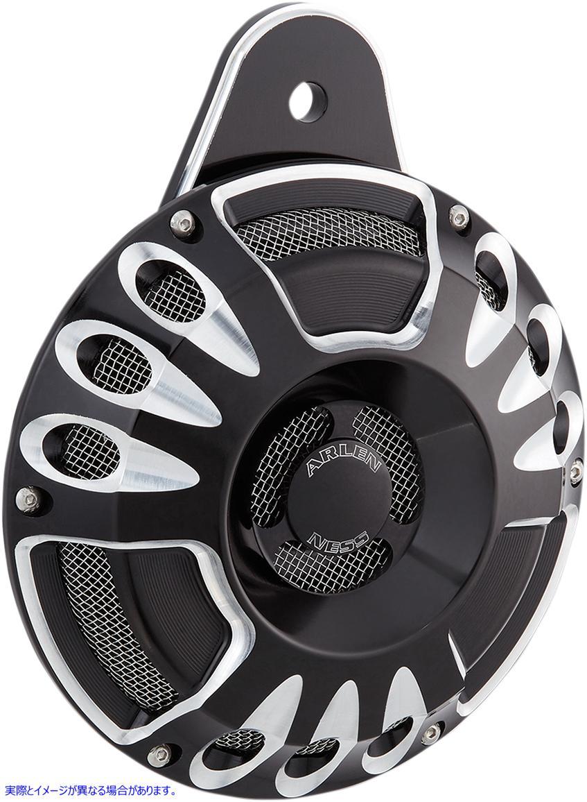 【取寄せ】 アレンネス 70-200 ARLEN NESS Custom Horn - Deep/Cut - Black HORN DEEP/CUT 黒ブラック CUSTOM 21070157 ( 2107-0157 ドラッ