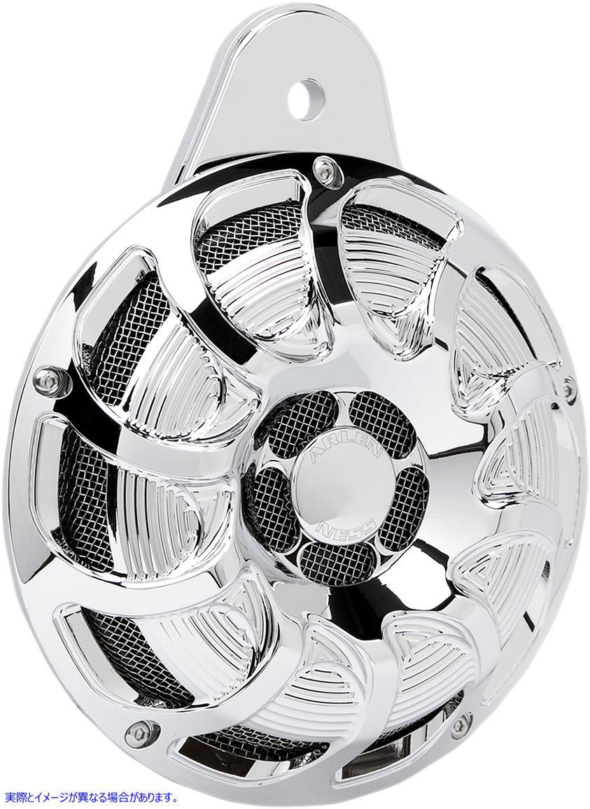 【取寄せ】 アレンネス 70-253 ARLEN NESS Custom Horn - Drift - Chrome 21070287 ( 2107-0287 ドラッグスペシャリティーズ DRAG SPECIAL