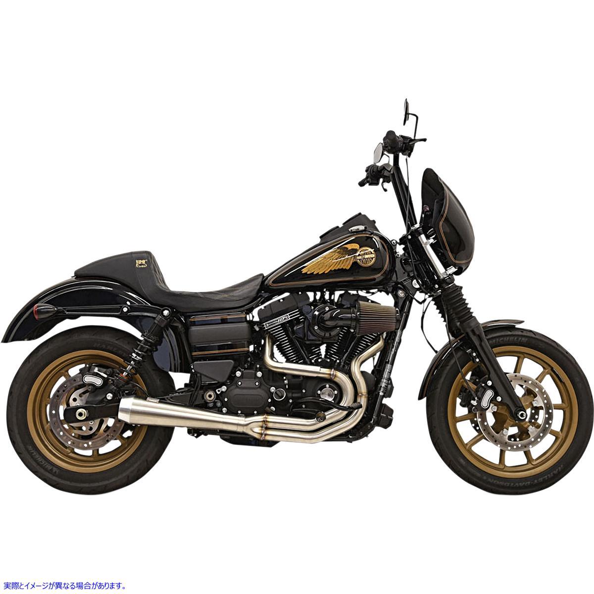 【取寄せ】 1D2SSL BASSANI XHAUST Greg Lutzka 2:1 Exhaust - FXD 18002135 ドラッグスペシャリティーズ 1800-2135 DRAG SPECIALTIES