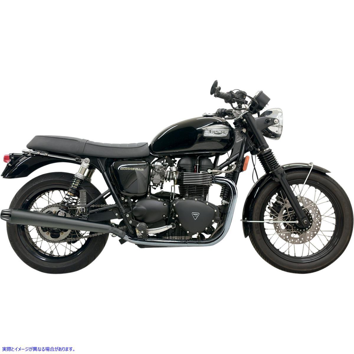 【取寄せ】 バッサーニ エキゾースト 7B17KB BASSANI XHAUST Mufflers - Black/Black - 3.5