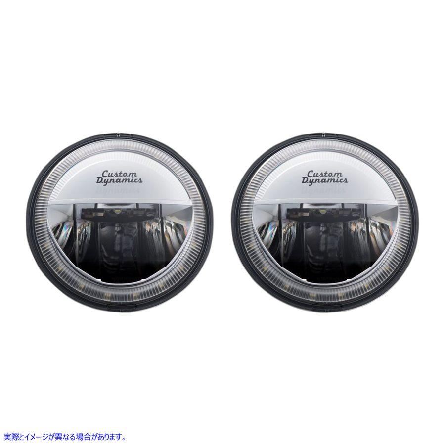 【取寄せ】 カスタム ダイナミクス CDTB-45-IH-C CUSTOM DYNAMICS LAMP PASSING 4.5 IND CHR 20011570 ( 2001-1570 ドラッグスペシャリテ