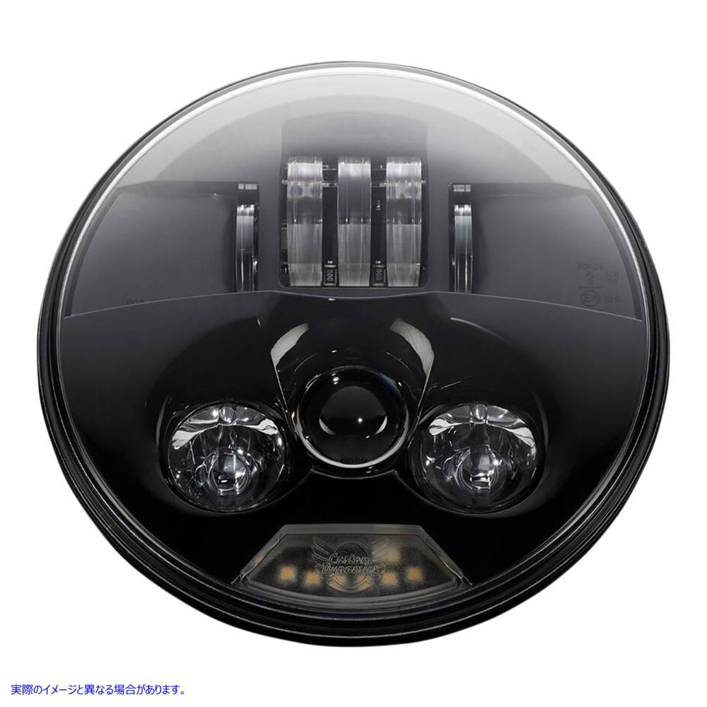 【取寄せ】 カスタム ダイナミクス PB-7-B CUSTOM DYNAMICS LAMP PROBEAM 7 BLACK 20011747 ( 2001-1747 ドラッグスペシャリティーズ DRAG