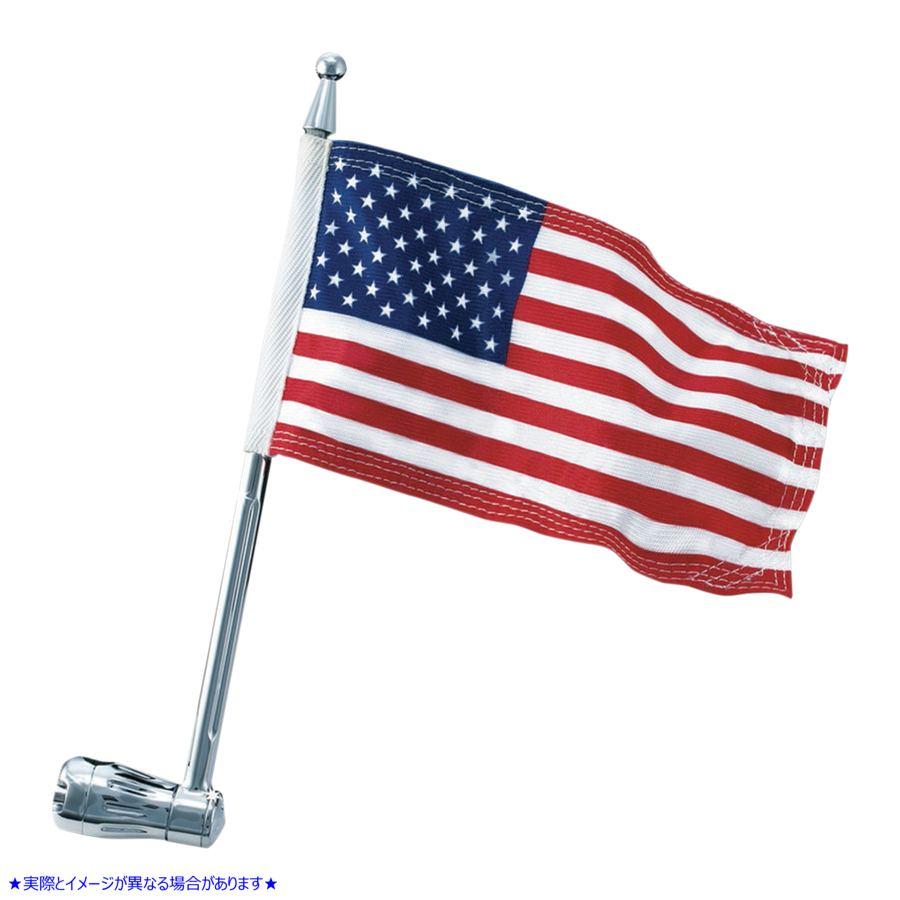 【取寄せ】 クリヤキン 4259 KURYAKYN FLAG POLE HOLDER 1/2 FLAG POLE HOLDER 1/2インチ 05210916 ( 0521-0916 ドラッグスペシャリティー