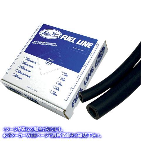 【取寄せ】 12-0041 MOTION PRO FUEL LINE BLK PRE 1/4-25' 07060019 ドラッグスペシャリティーズ 0706-0019 DRAG SPECIALTIES