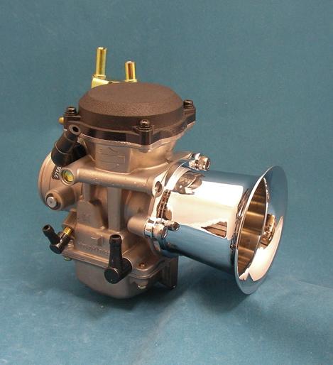 Funnel CV carburetor 2  UW/KEIHIN CV CARBURETOR, CARBURETOR VELOCITY STACK  5 in