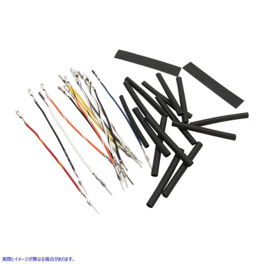 【NAMZ】米国取寄せ  【取寄せ】Ready-To-Install ハンドルバー Wire エクステンション Kit ナムズ NHCX-M12 NAMZ Handlebar Wiring Extension - 12