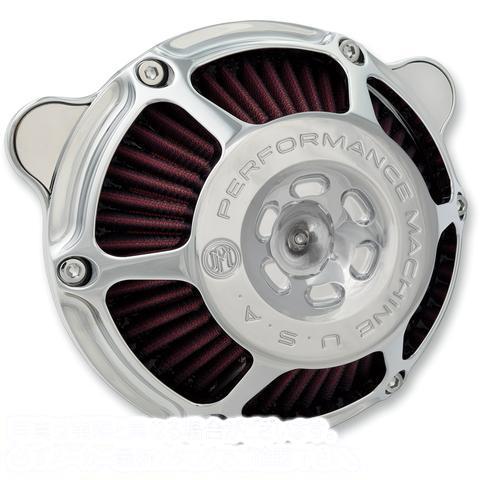 【取寄せ】 パフォーマンスマシーン 0206-2078-CH PERFORMANCE MACHINE (PM) Aircleaner MaxHP Cv/Electronic Fuel Injection Chrome エア