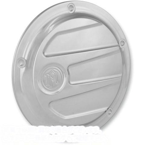【取寄せ】 パフォーマンスマシーン 0177-2026-CH PERFORMANCE MACHINE (PM) Derby Cover - Chrome - Scalloped COVER DERBY SCLP 5HOL C 1
