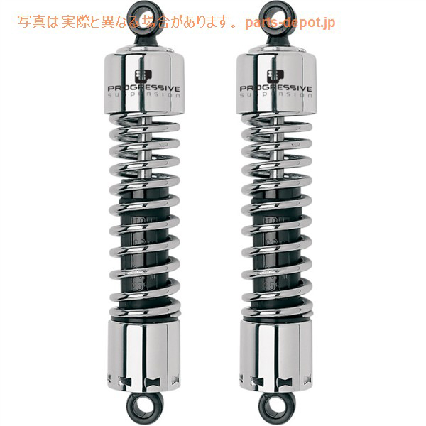 412 13 inches of series suspension V-ROD V rod chrome PROGRESSIVE SUSPENSION article number 412-4053C