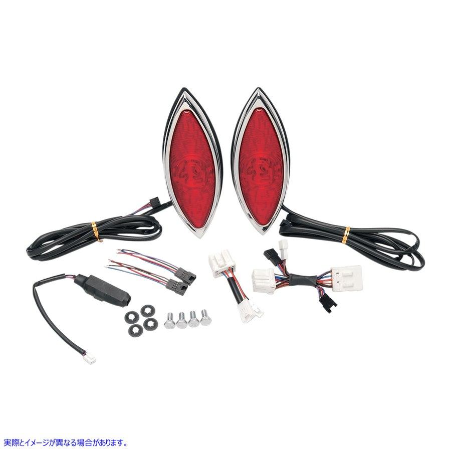 【取寄せ】 ラス ワーニモント デザイン RWD-310 RUSS WERNIMONT DESIGNS TAILLIGHT LED TAILLIGHT 20100165 ( 2010-0165 ドラッグスペシ
