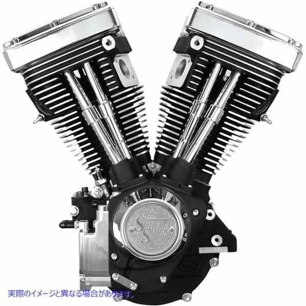 【取寄せ】 310-0233 S&S CYCLE ENGINE V80 EVO LNG BLK ENGINE V80 EVO LNG BLK 09010187 ドラッグスペシャリティーズ 0901-0187 DRAG SP
