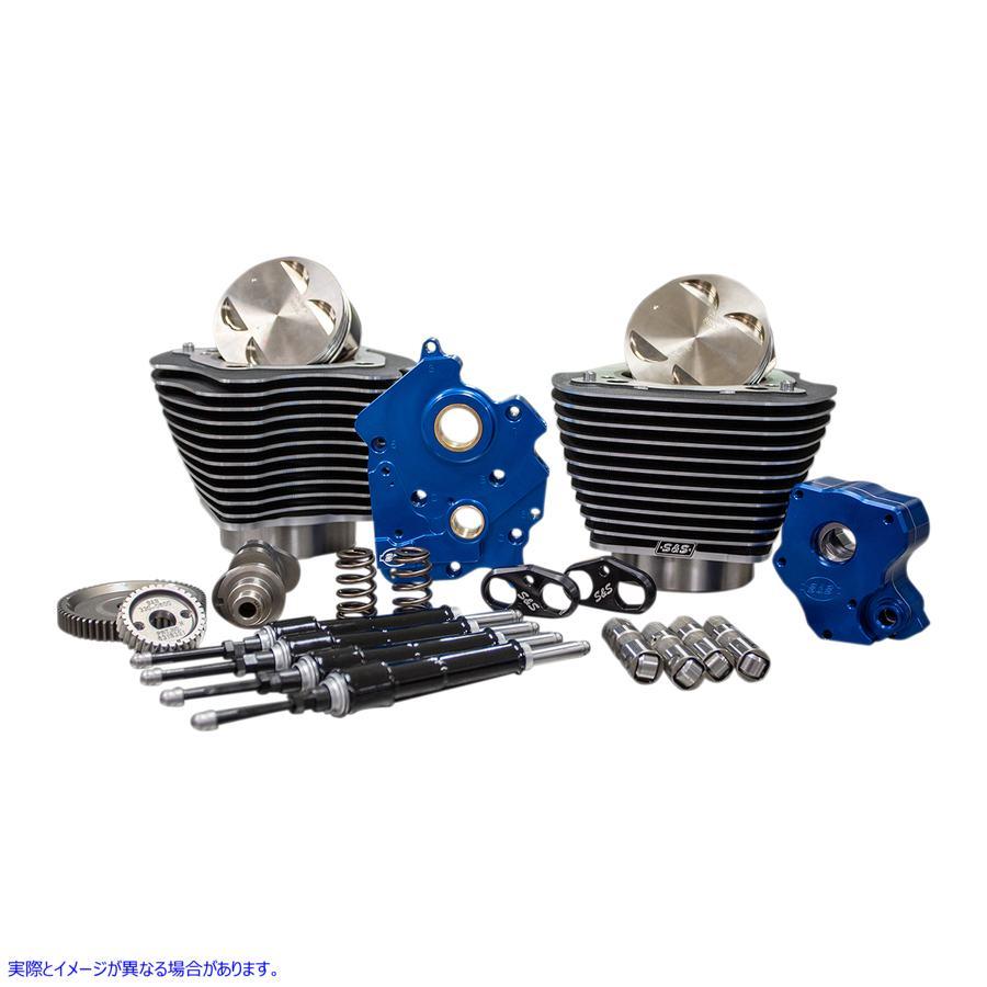 【取寄せ】 310-1055 S&S CYCLE POWER PK WC GD FIN-HL M8 09040039 ドラッグスペシャリティーズ 0904-0039 DRAG SPECIALTIES