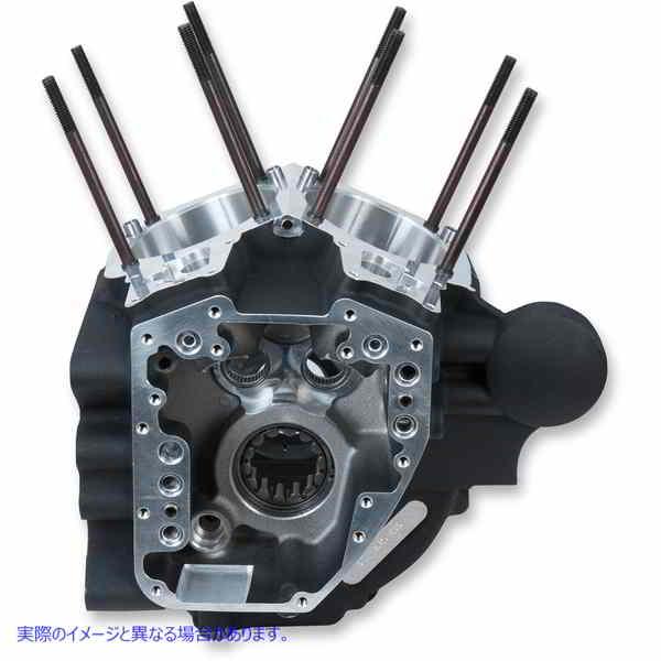 【取寄せ】 エスアンドエス サイクル 310-0878 S&S CYCLE CRANKCASE BLK STK BR 06- 09200155 ( 0920-0155 ドラッグスペシャリティーズ DR