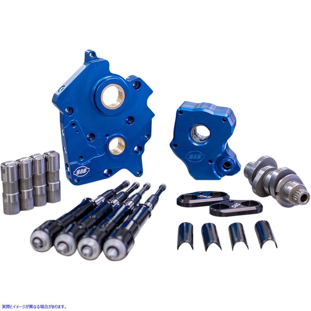 【取寄せ】 310-1008 S&S CYCLE CAM 475C W/PLT WC/BLK M8 09251234 ドラッグスペシャリティーズ 0925-1234 DRAG SPECIALTIES