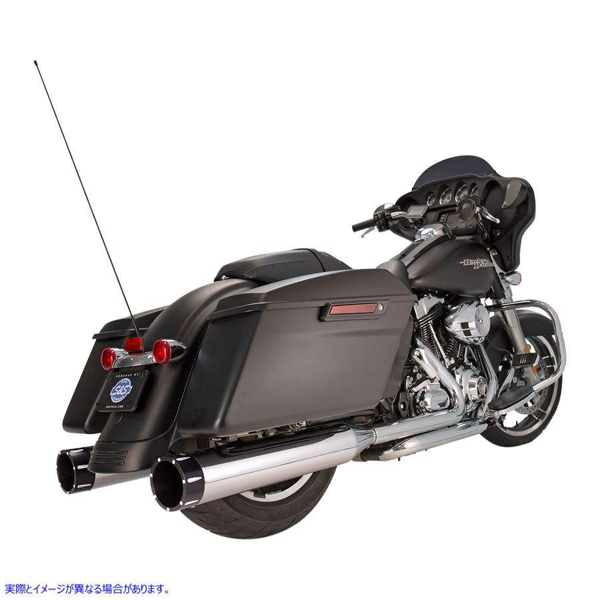 【取寄せ】 エスアンドエス サイクル 550-0623 S&S CYCLE MUFFLERS 4.5