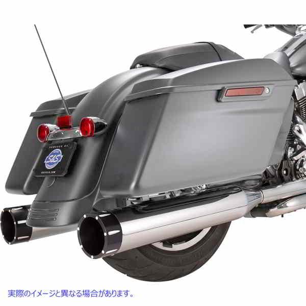 【取寄せ】 550-0668 S&S CYCLE MUFFLER 4.5
