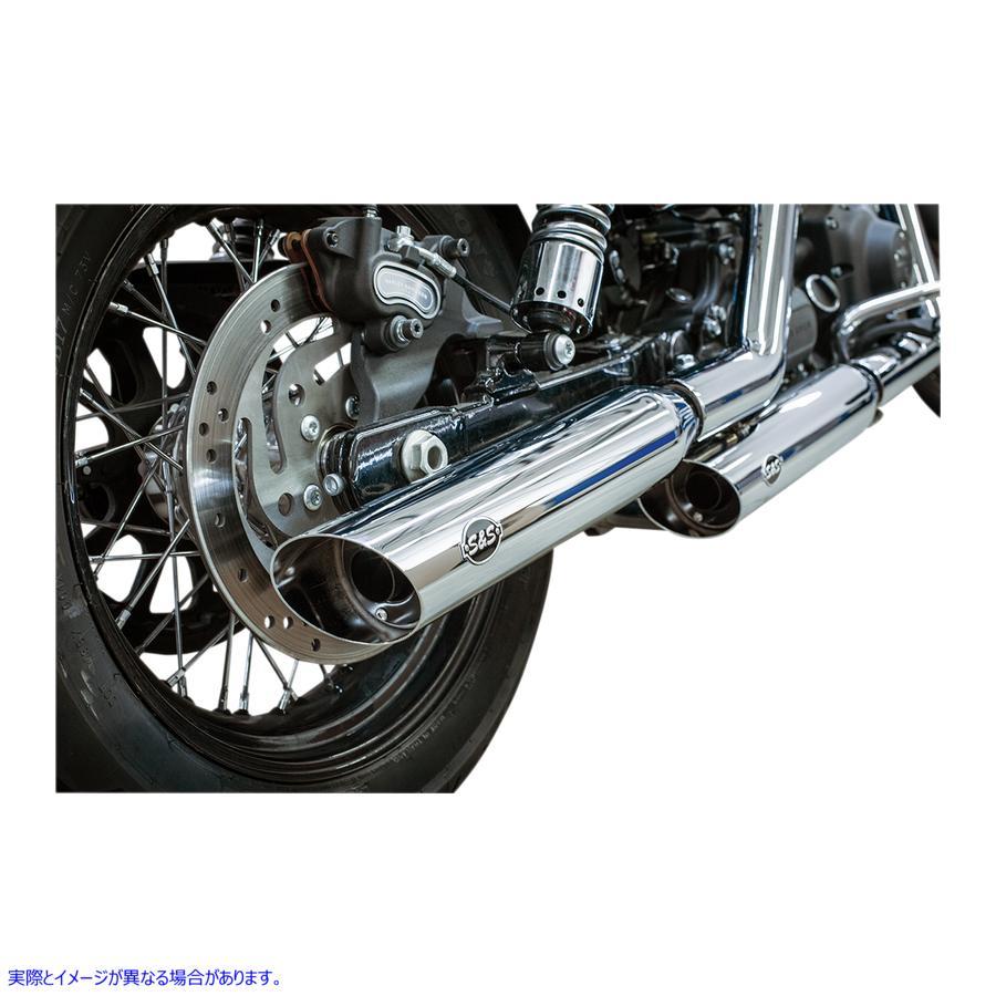 【取寄せ】 エスアンドエス サイクル 550-0718 S&S CYCLE MUFFLERS CH SLSH 95-09FXD 18011271 ( 1801-1271 ドラッグスペシャリティーズ D