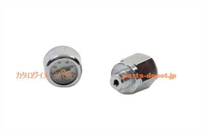 S☆H ミニオイルゲージキット 油圧計 ショベル 40-0878 Mini Oil Gauge Kit【PARTS DEPOT 】ハーレーパーツ