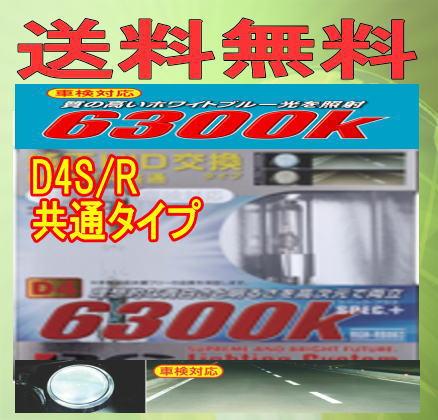 RG(レーシングギア)純正交換HIDバルブD4S/R共通 {6300K} RGH-RB863