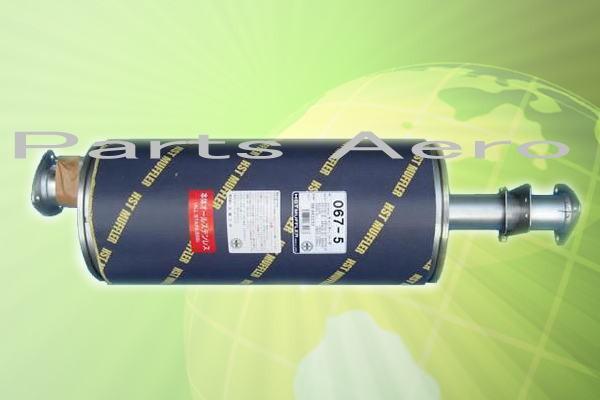 マフラー HST 067-5ミツビシ キャンターFE70E.FE71E.FE72E.FE73E 純正同等/車検対応067-5