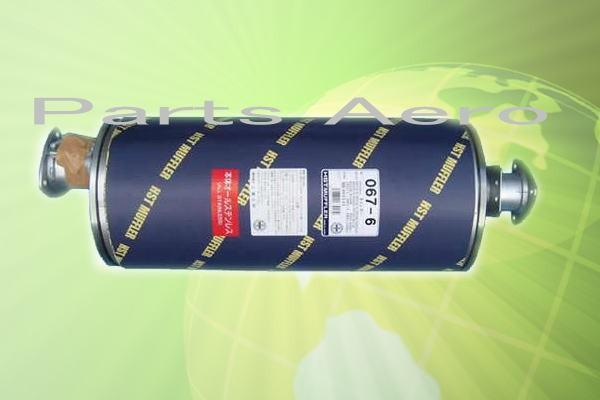マフラー HST 067-6 ミツビシ キャンター FE72C.FE73C.FE82C純正同等/車検対応