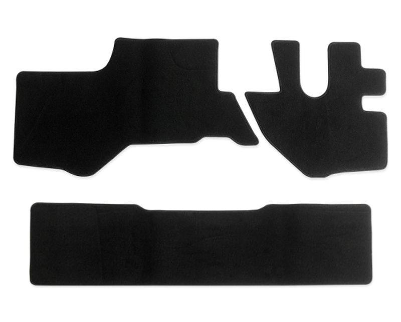 内装パーツ 07エルフ タイタン アトラス コンドル 標準 ダブルキャブ リア 黒 メーカー再生品 PA-TFM2627-BK 休日 フロント ブラック フロアマット