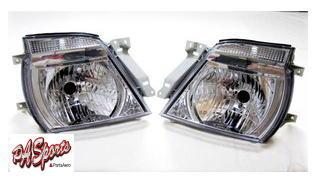 E25系 キャラバン タイプ 超人気 クリスタルヘッドライト 通信販売 左右セット
