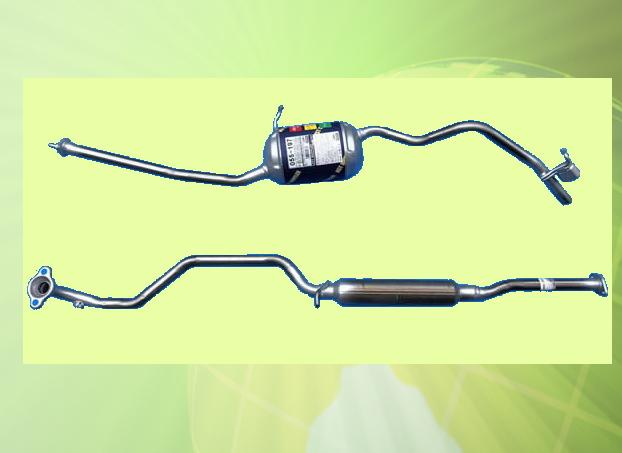プレオプラス LA310F 車検対応 新品マフラー ■ 純正同等 HST 055-197