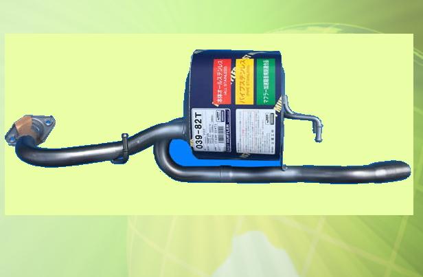 アクア NHP10 (2WD) 車検対応 新品マフラー ■ 純正同等 HST 039-82T