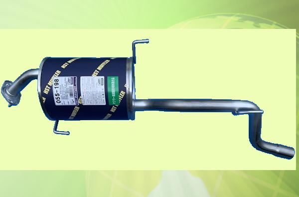 ダイハツ テリオスキッド J131G(2WD) J111G(4WD) 車検対応 リアマフラー ■ HST 055-198